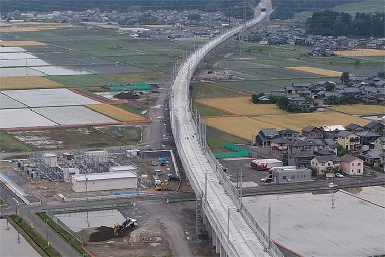 北陸新幹線越前三ツ屋高架橋